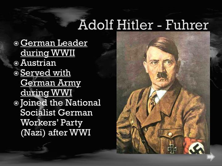 Adolf Hitler - Fuhrer