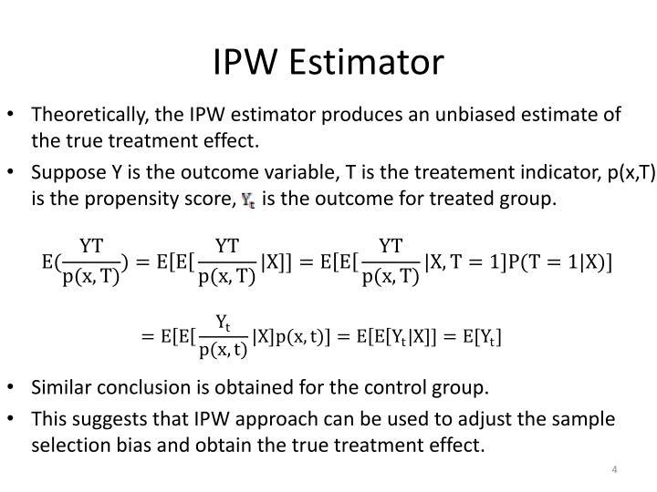 IPW Estimator