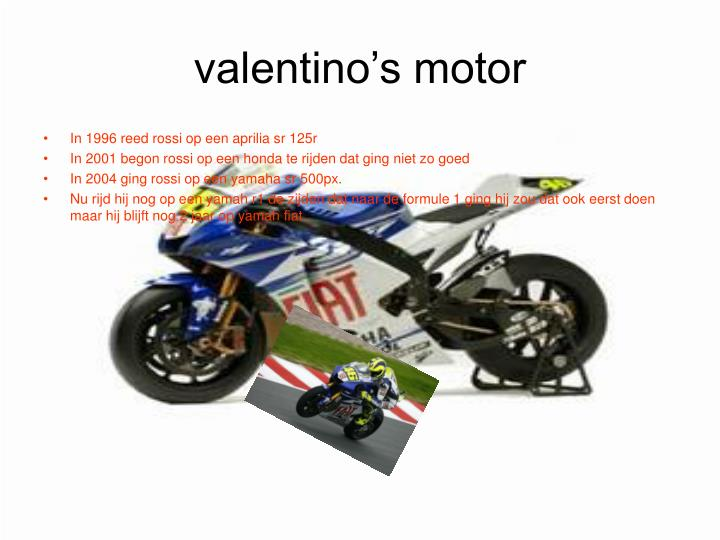 valentino's motor