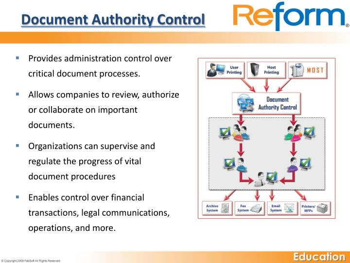 Document Authority Control