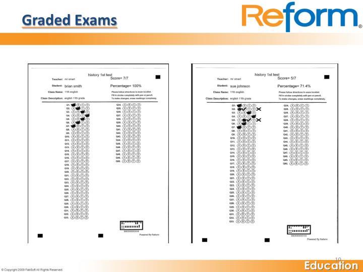 Graded Exams