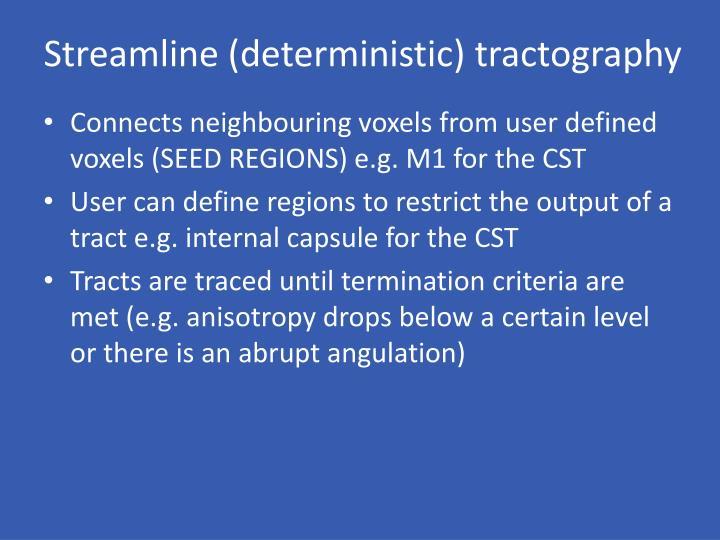 Streamline (deterministic)