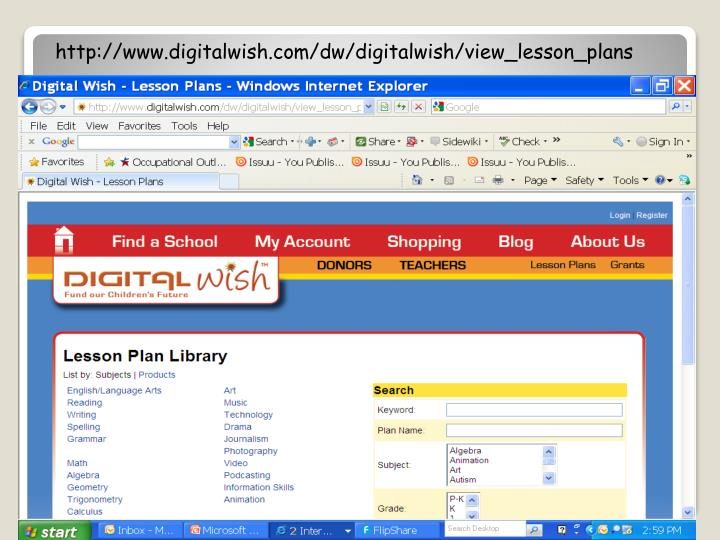 http://www.digitalwish.com/dw/digitalwish/view_lesson_plans