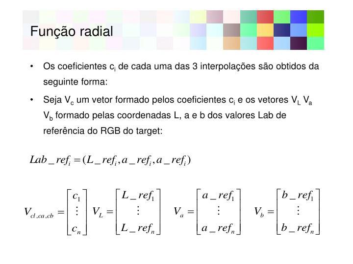 Função radial
