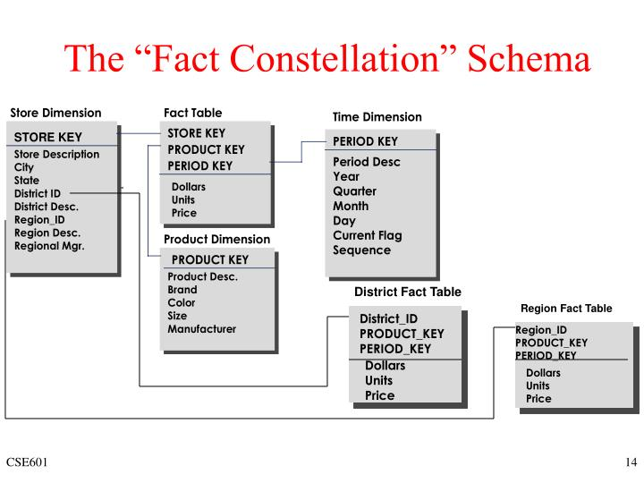 "The ""Fact Constellation"" Schema"