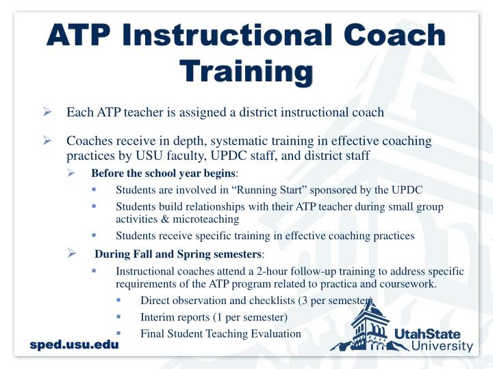 ATP Instructional Coach Training
