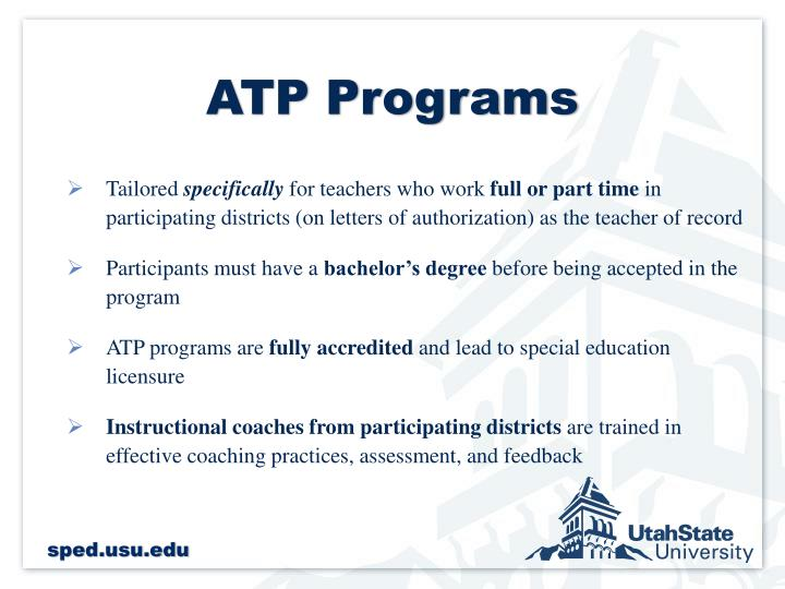 ATP Programs