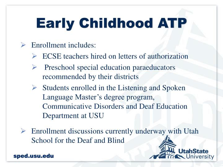 Early Childhood ATP