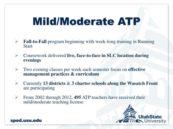 Mild/Moderate ATP