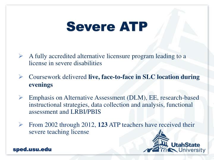 Severe ATP