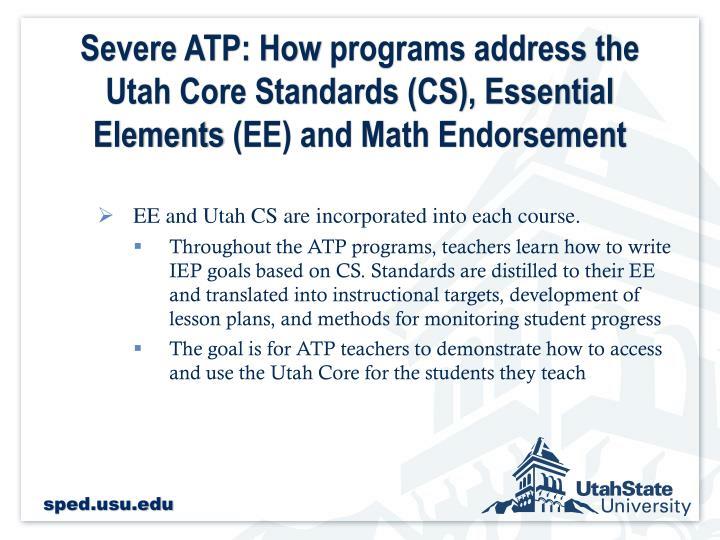 Severe ATP: How