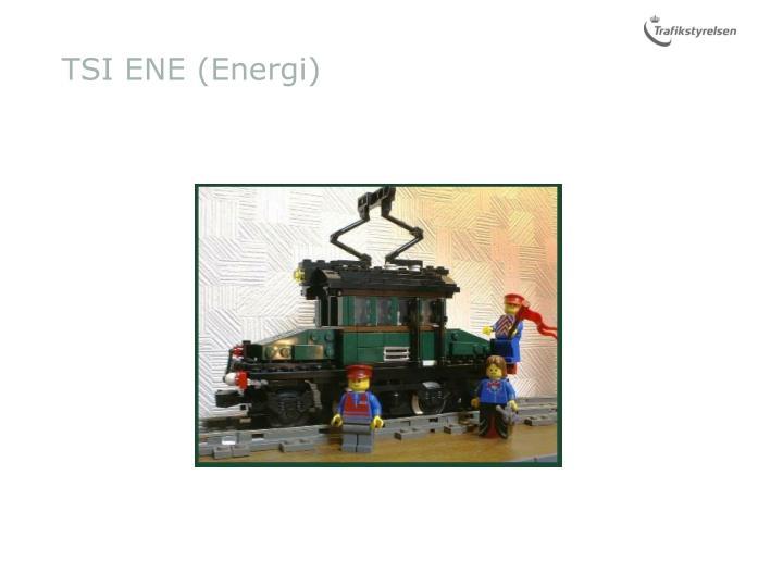 TSI ENE (Energi)