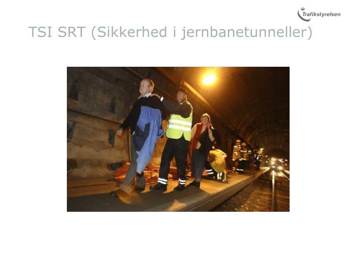 TSI SRT (Sikkerhed i jernbanetunneller)