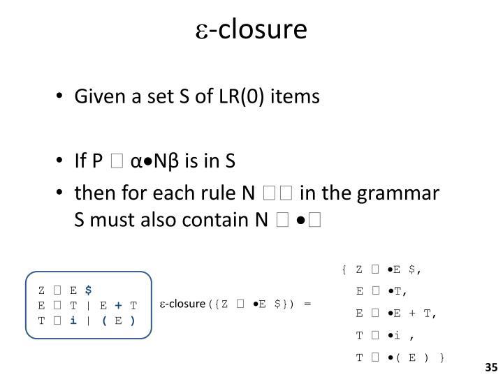 -closure