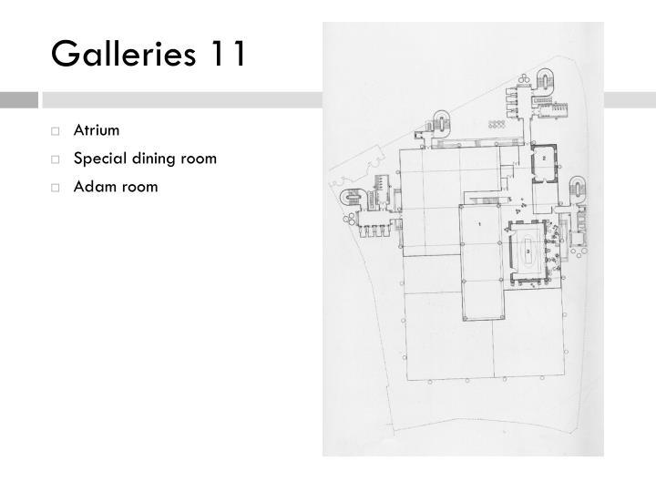 Galleries 11