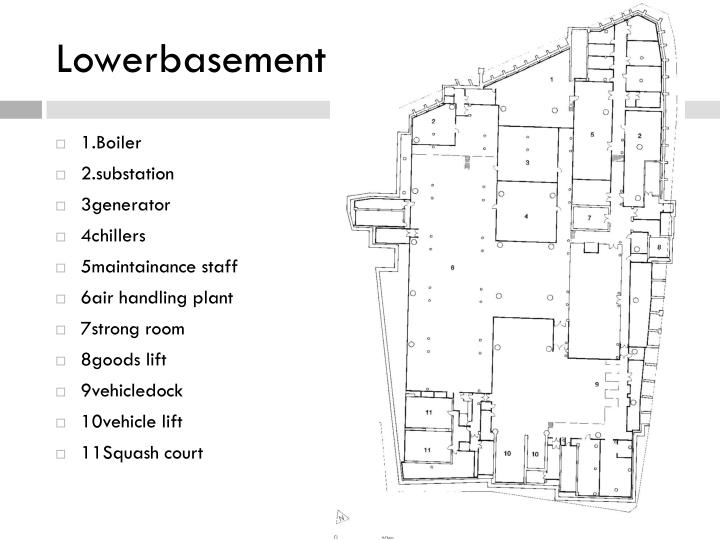 Lowerbasement plan