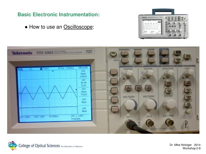 Basic Electronic Instrumentation: