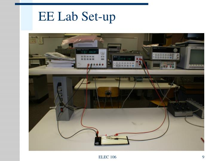 EE Lab Set-up