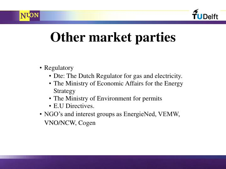 Other market parties