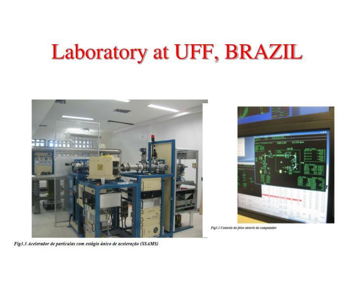 Laboratory at UFF, BRAZIL