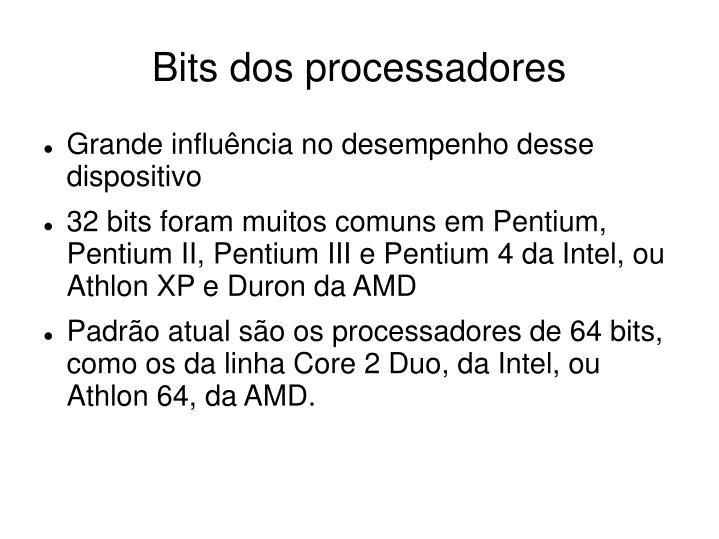 Bits dos processadores