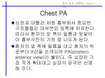chest pa