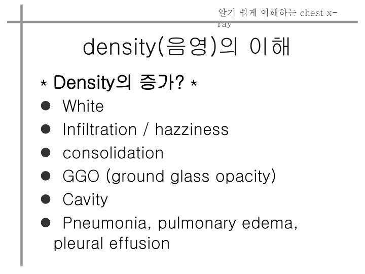 density(