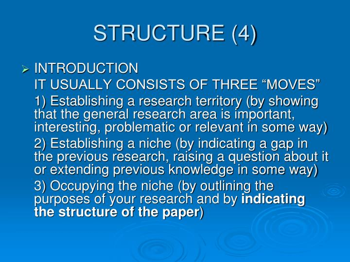STRUCTURE (4)