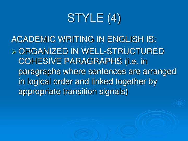 STYLE (4)