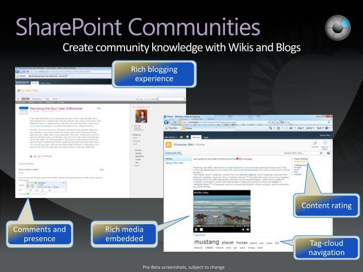 Create community knowledge