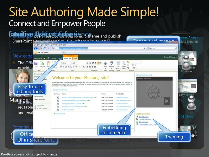 Site Authoring Made Simple!