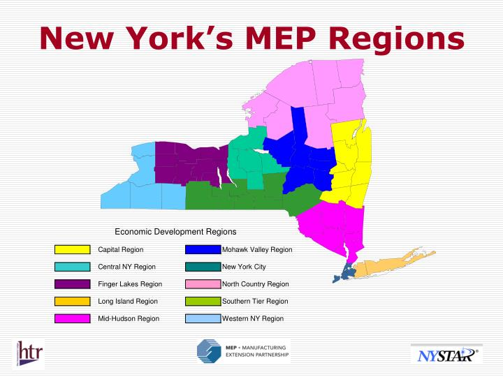 New York's MEP Regions