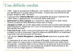 una difficile eredit
