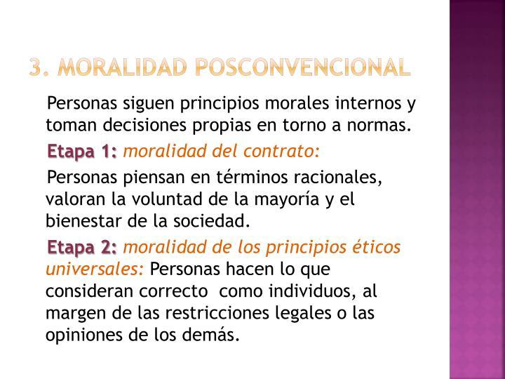 3. Moralidad