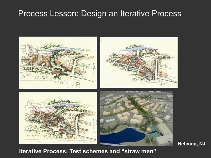 Process Lesson: Design an Iterative Process