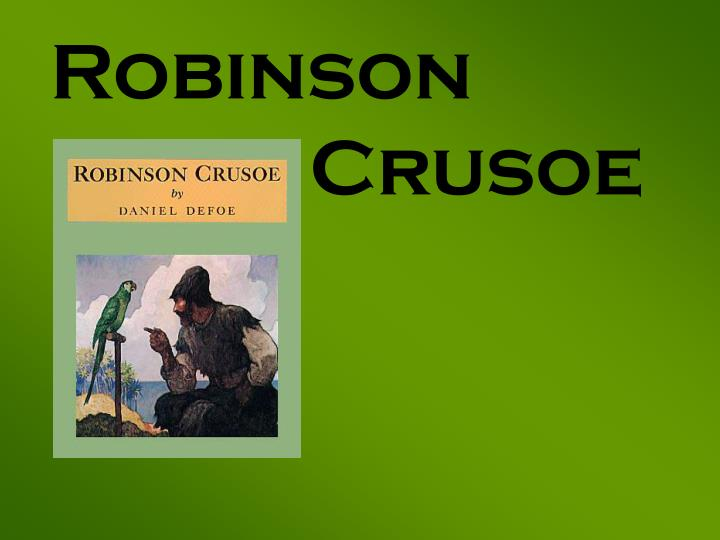 critical essays on robinson crusoe Essays and criticism on daniel defoe's robinson crusoe - robinson crusoe.