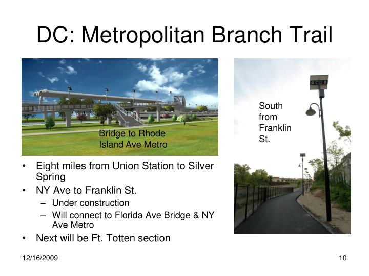 DC: Metropolitan Branch Trail