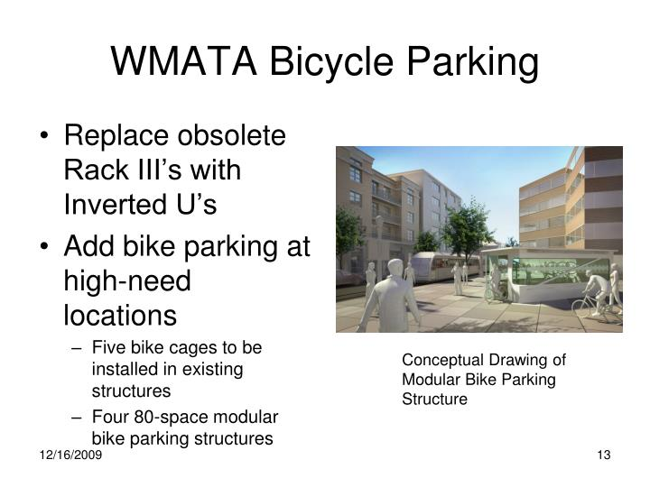 WMATA Bicycle Parking