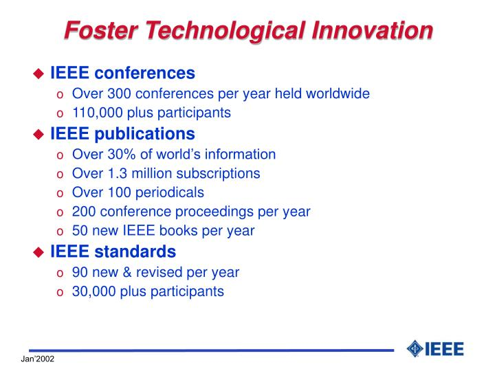 Foster Technological Innovation