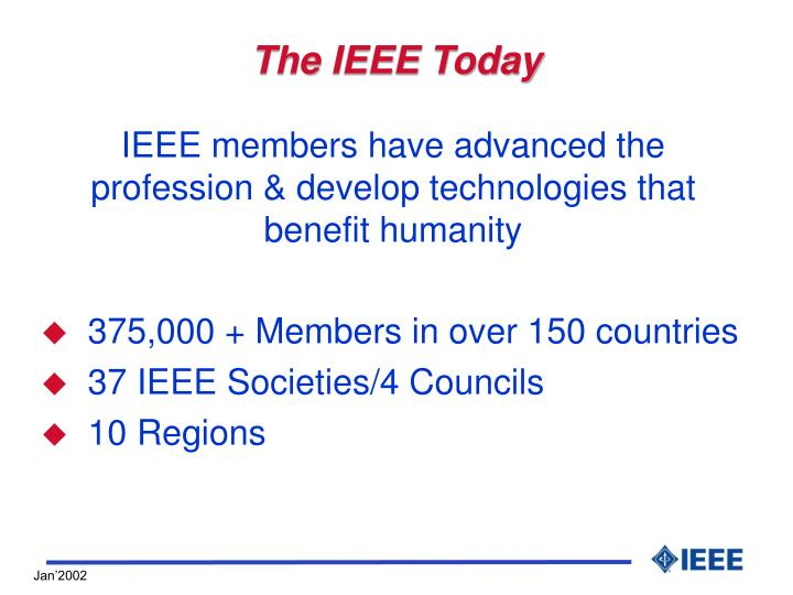 The ieee today