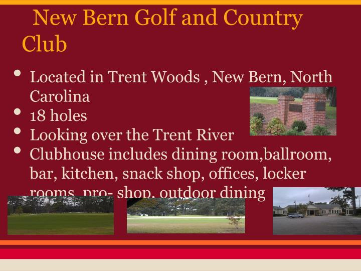 New bern golf and country club