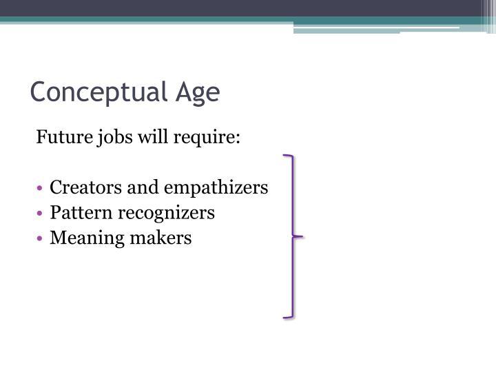 Conceptual Age
