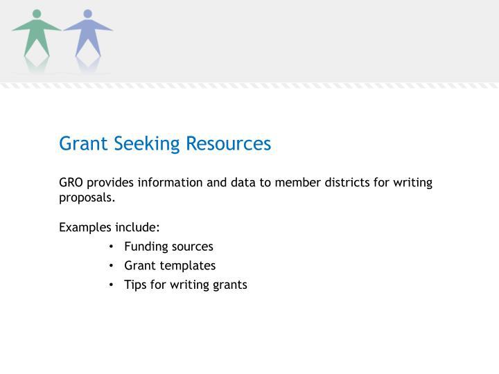 Grant Seeking