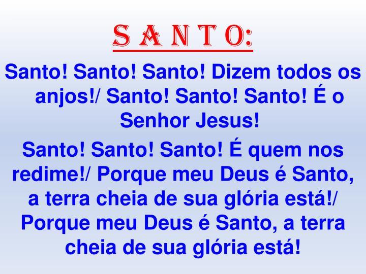 S A N T O: