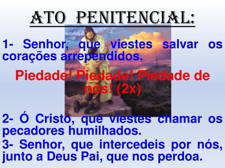 ATO  PENITENCIAL: