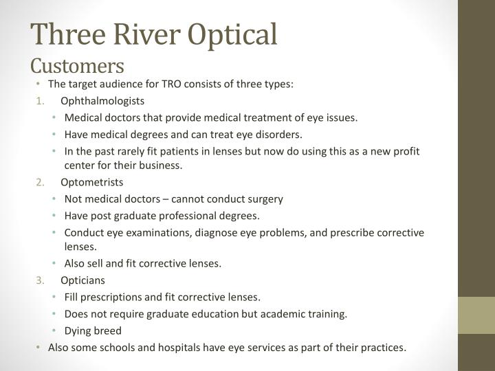 Three River Optical