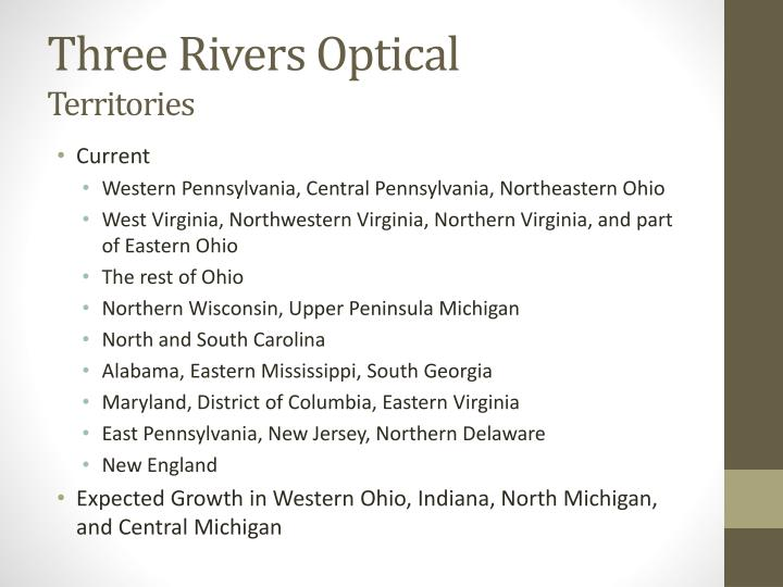 Three Rivers Optical