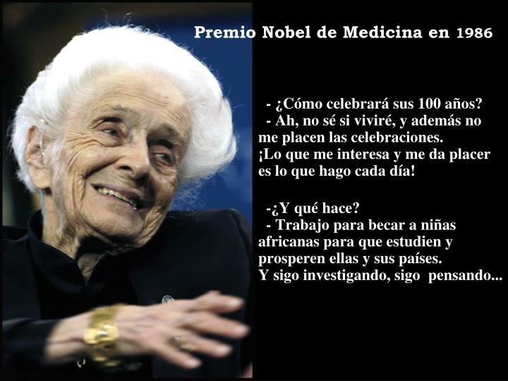 Premio Nobel de Medicina en