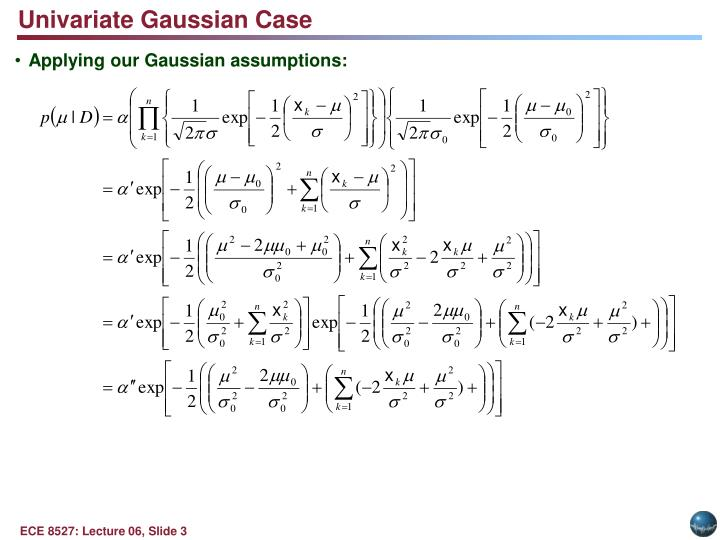 Univariate Gaussian Case