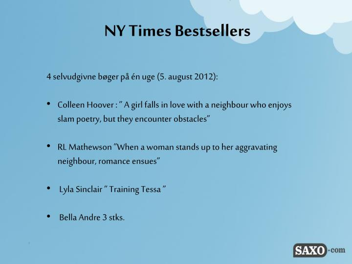 NY Times Bestsellers